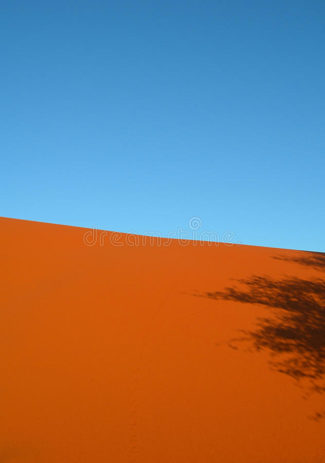 Download Shadow On Red Arid Sand Dunes Stock Photo - Image: 13220898