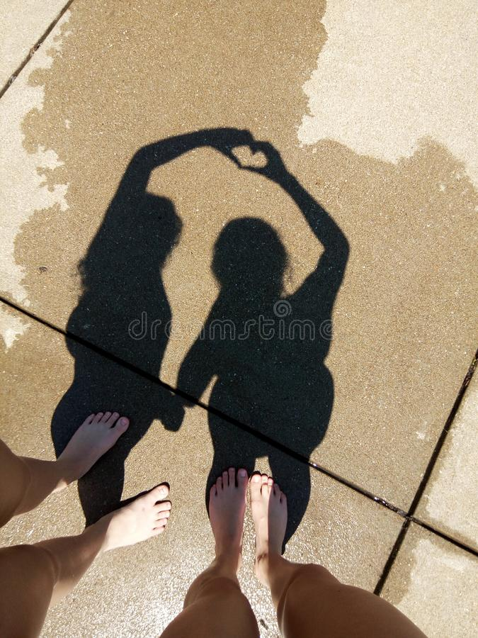 Shadow royalty free stock image