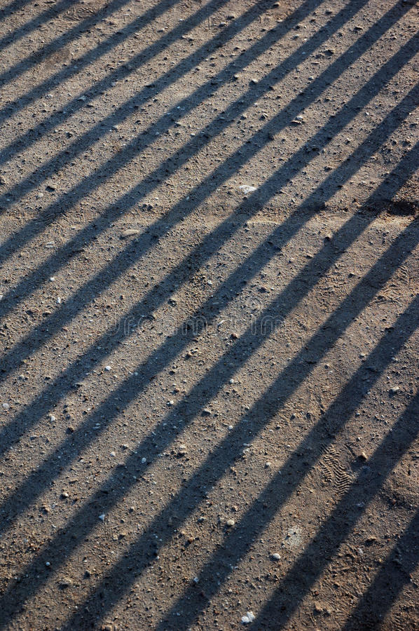 Shadow stripe lines. Abstract color pattern of shadow stripe lines from blinds stock images