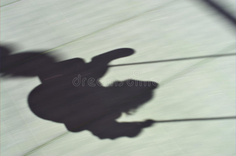 Download Shadow swing stock image. Image of girl, funny, game - 16930685