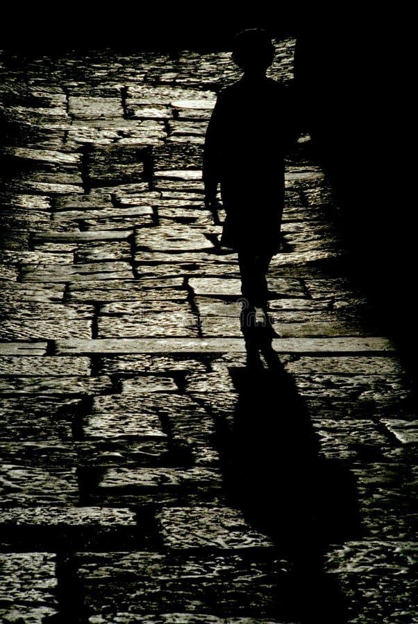 Shadowomen image stock