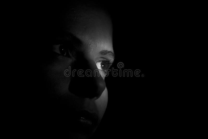 Download In the shadows stock image. Image of attractive, composite - 22622403