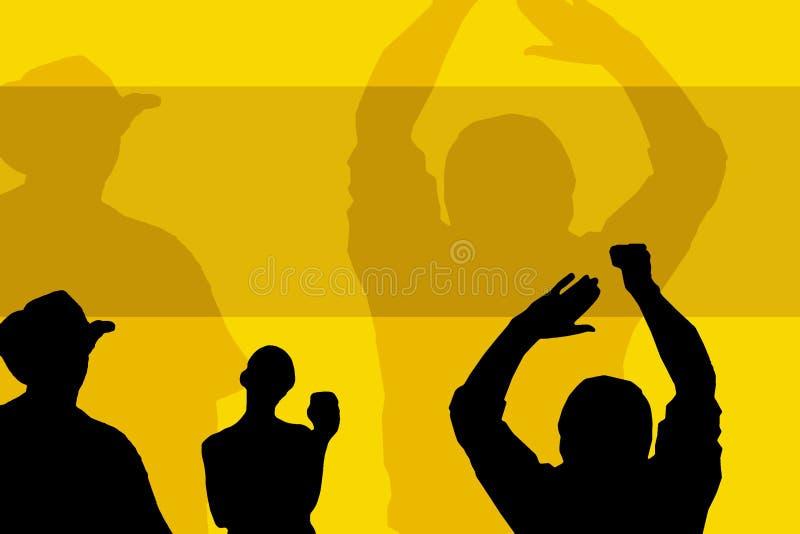 Download Shadows stock illustration. Illustration of dance, drunk - 7087084