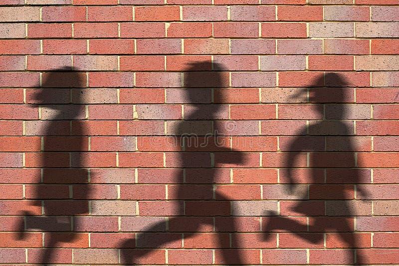 Shadows stock photo