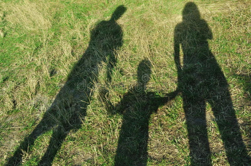 Download Shadows of the family stock photo. Image of body, love - 11596786