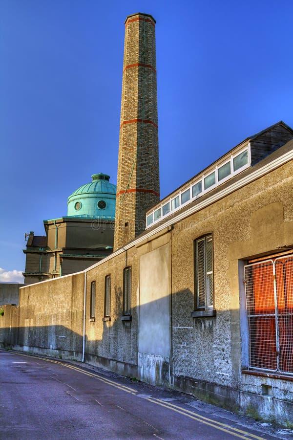 Shadows of Limerick cityscape. In Ireland stock photos