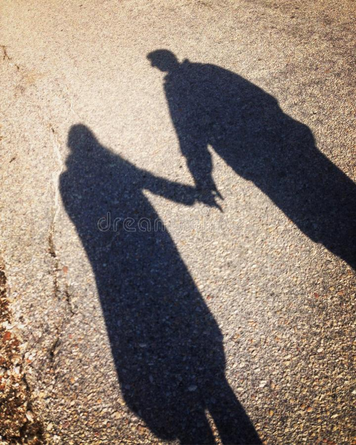 Shadows stock image