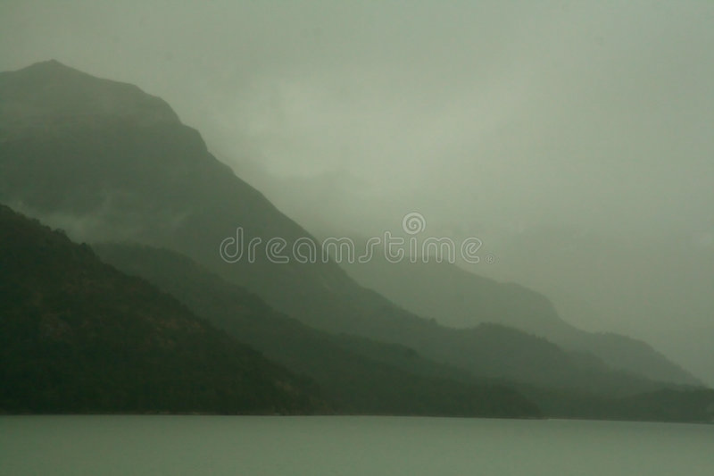 Download Shadowy Gray Green Ridges On Overcast Day Stock Image - Image: 1938097