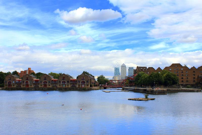 Shadwell Basin London Great Britain royalty free stock photography