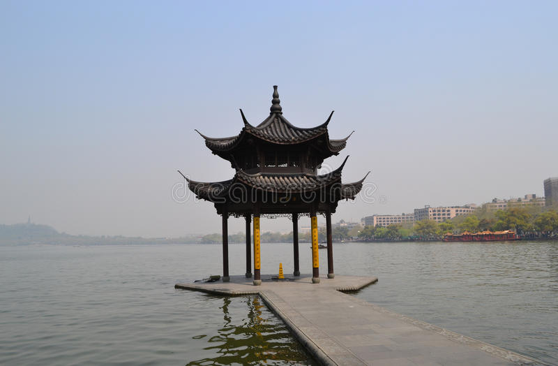 Download Shady Bower On The West Lake Stock Photo - Image of chinese, paradise: 25945752