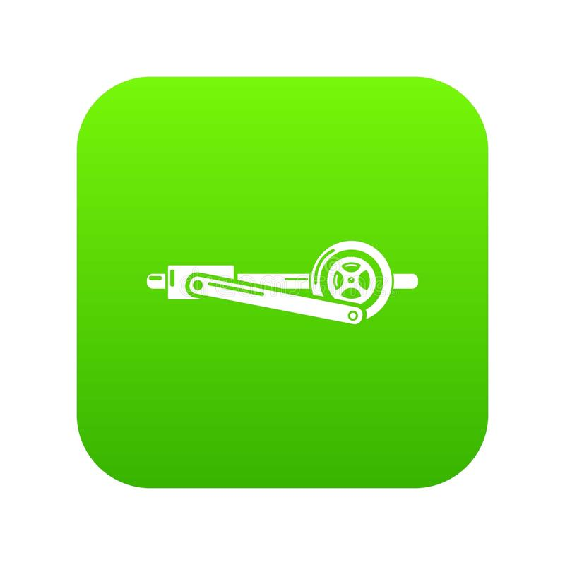 Shaft icon, simple style. Shaft icon. Simple illustration of shaft vector icon for web royalty free illustration