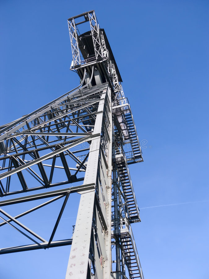 Shaft Tower. Of a coal mine, Zeche Zollern, Dortmund, Germany see also stock images