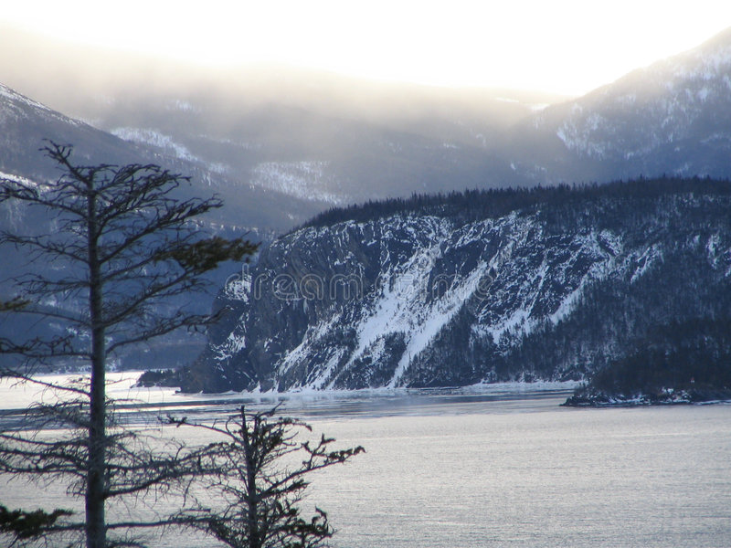 Shagg Cliff stock photo
