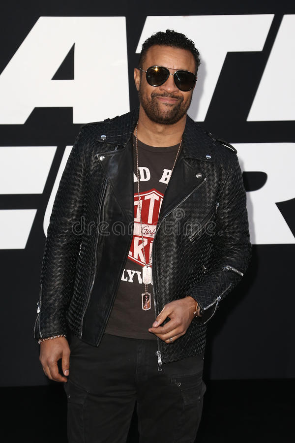 Shaggy. NEW YORK-APR 8: Singer Shaggy attends the premiere of `The Fate of the Furious` at Radio City Music Hall on April 8, 2017 in New York City stock photography