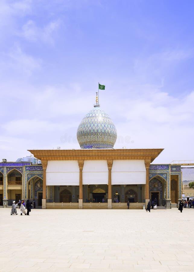 Shah-e-Cheragh mauzoleum i fotografia royalty free