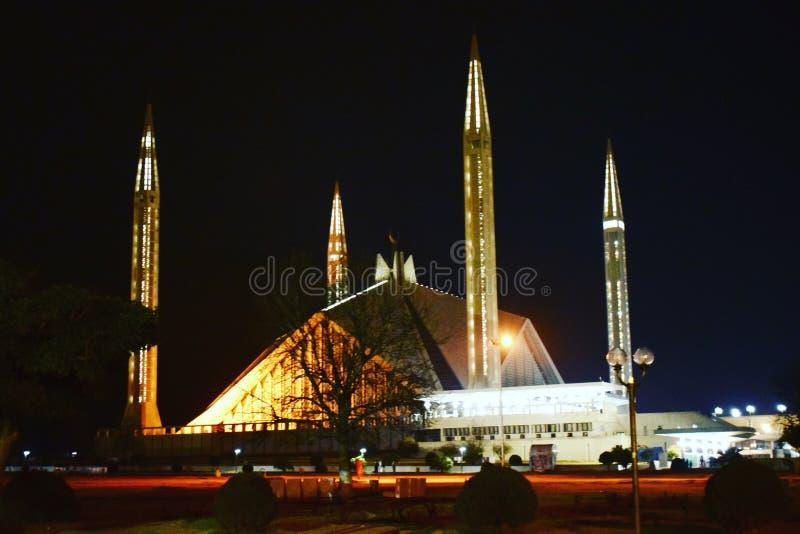 Shah Faisal meczet, Islamabad obrazy stock