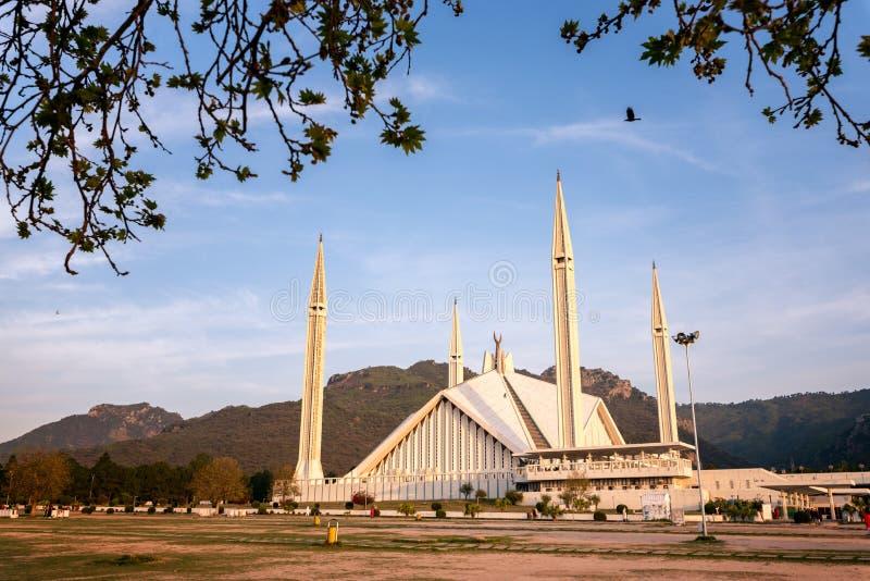 Shah Faisal Meczetowy Islamabad Pakistan zdjęcia royalty free