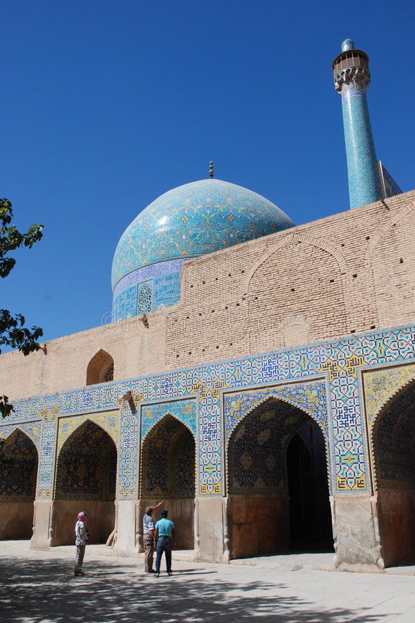 Shah (Imam) Mosque in Isfahan, Iran stock photography