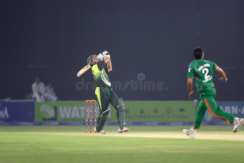 Shahid Afridi images stock