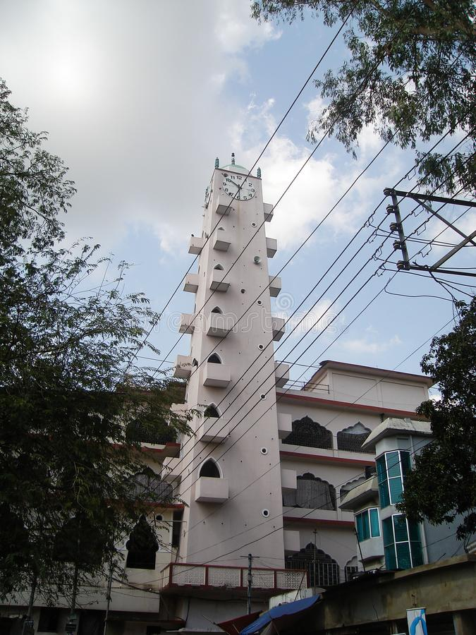 Shahjalal Mazar, Sylhet, Bangladesch 2007 stockbild