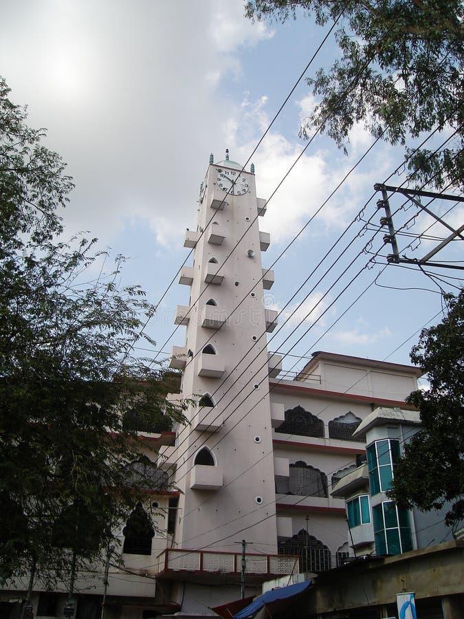 Shahjalal Mazar, Sylhet, Bangladesh 2007 stock afbeelding