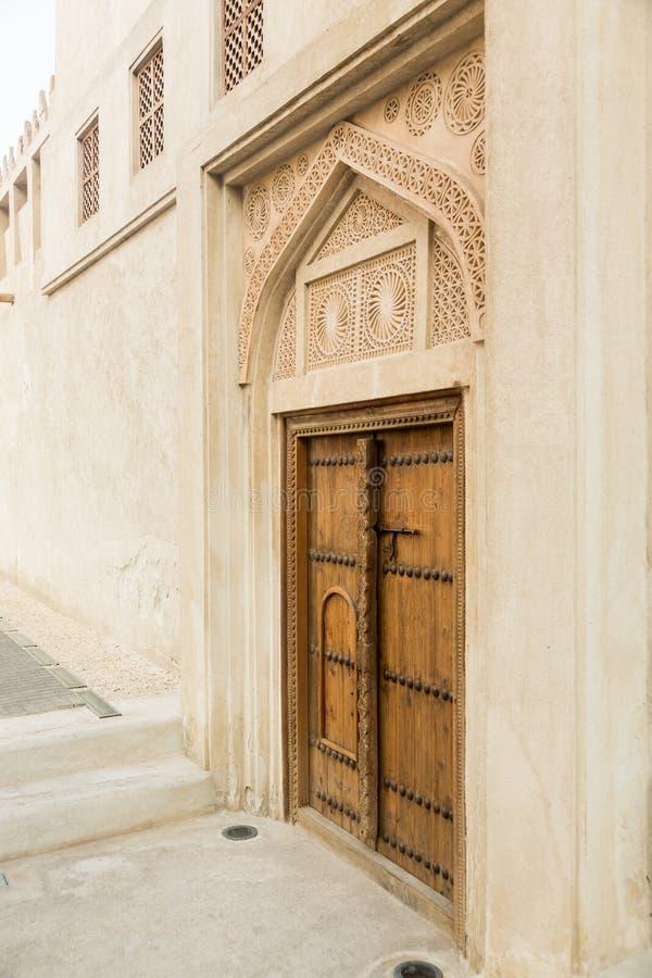 Shaikh Isa-bak Ali House Bahrain stock afbeelding