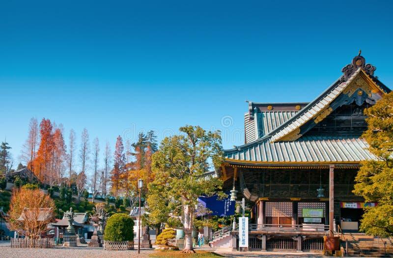 Shakadozaal van Narita San Shinsho ji tempel, Narita, Chiba, Jap royalty-vrije stock fotografie