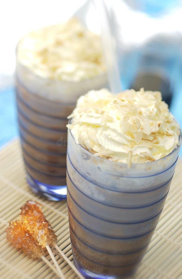 shake шоколада стоковое изображение rf