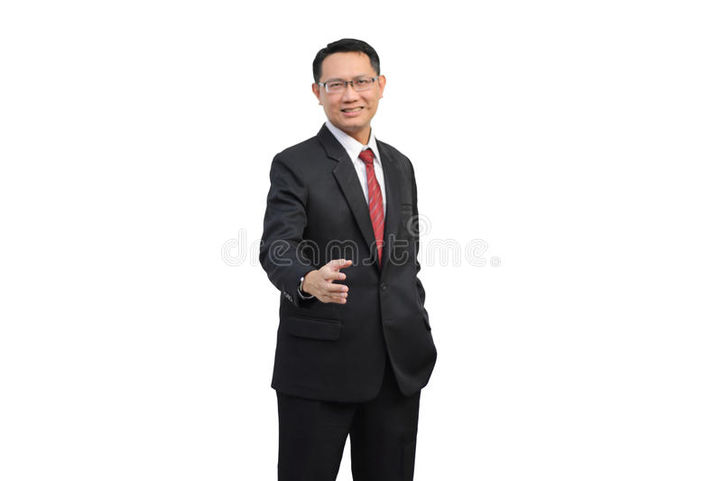 Shake hand royalty free stock photo