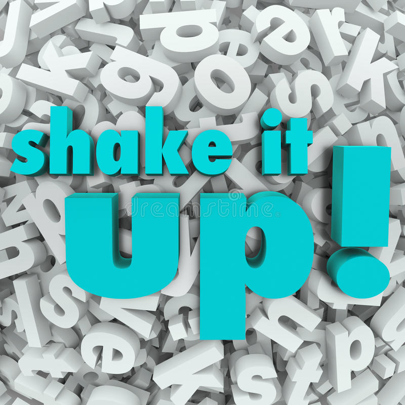 Download Shake It Up Words Letter Background Reorganization New Idea Stock Illustration - Illustration of business, finding: 32599358