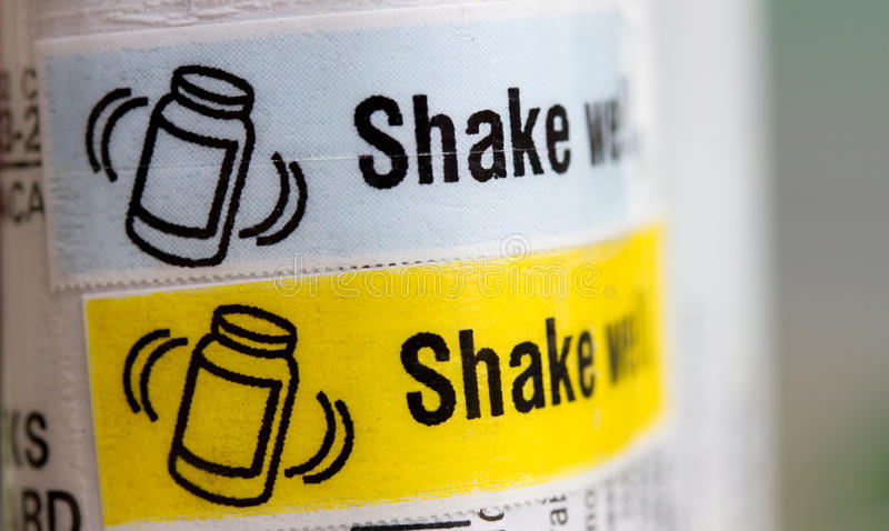 Download Shake well stock image. Image of emulsion, well, shake - 17829279