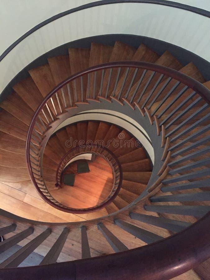 Shaker Spiral Staircase foto de stock royalty free