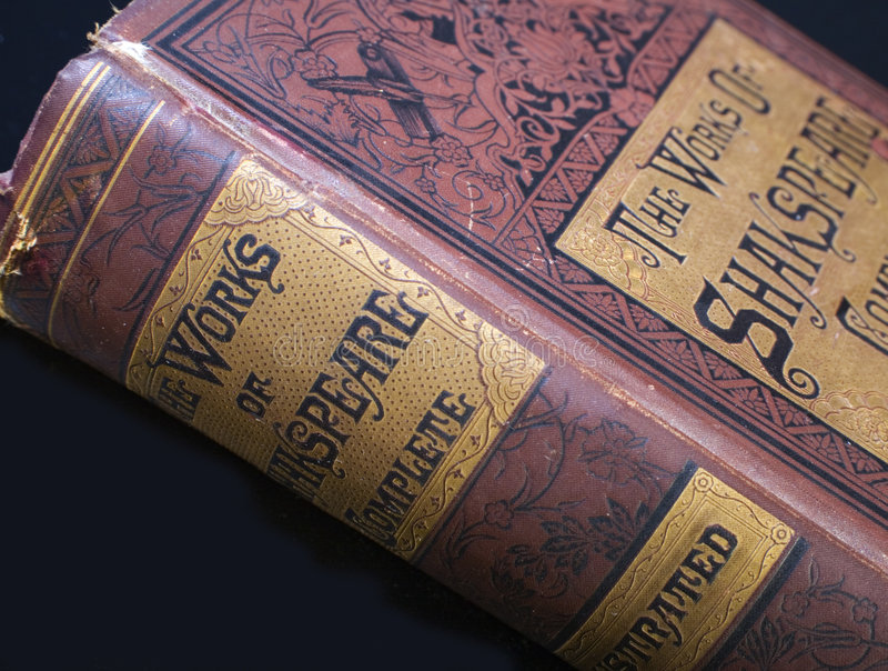 Shakespeare 1893 pobrania zdjęcia stock