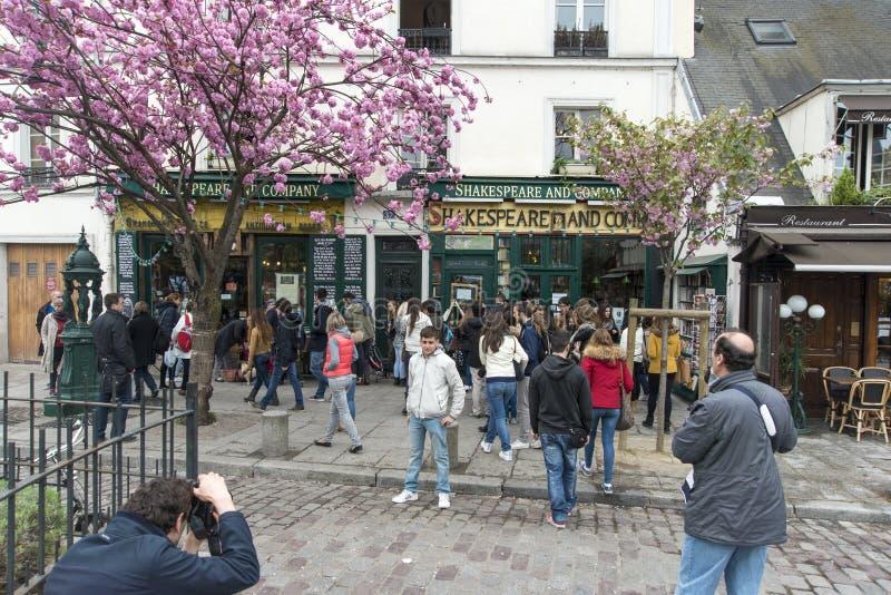 Shakespeare en Bedrijf Parijs royalty-vrije stock fotografie