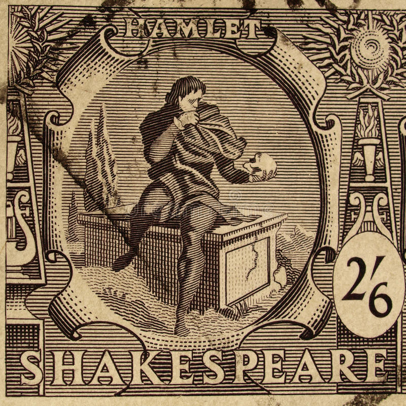 Free Shakespeare Festival Stamp Royalty Free Stock Images - 11055179