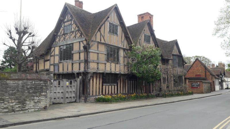 Shakespeare& x27; luogo di nascita di s fotografie stock