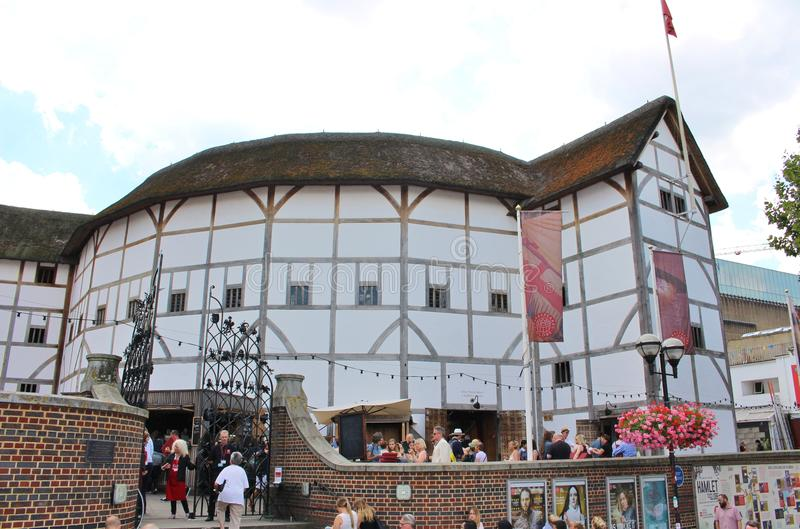 Shakespeare's Globe Theater royalty free stock image