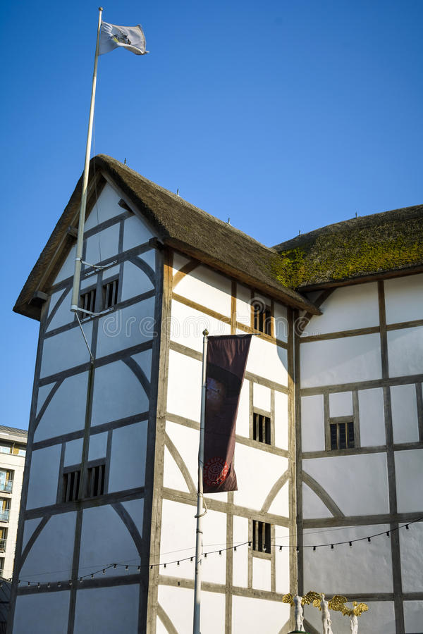 Shakespeare-Theater lizenzfreie stockfotos