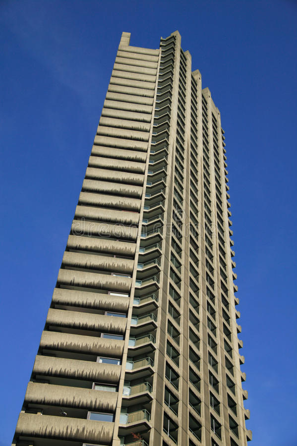 Shakespeare Tower at the Barbican Estate London