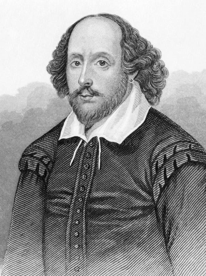 Shakespeare William στοκ εικόνες