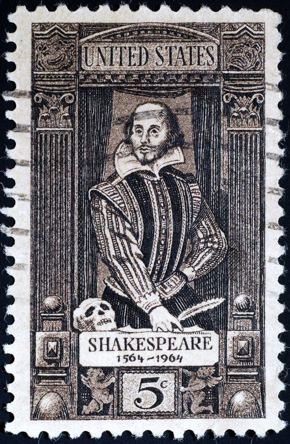 Shakespeare William στοκ φωτογραφία με δικαίωμα ελεύθερης χρήσης