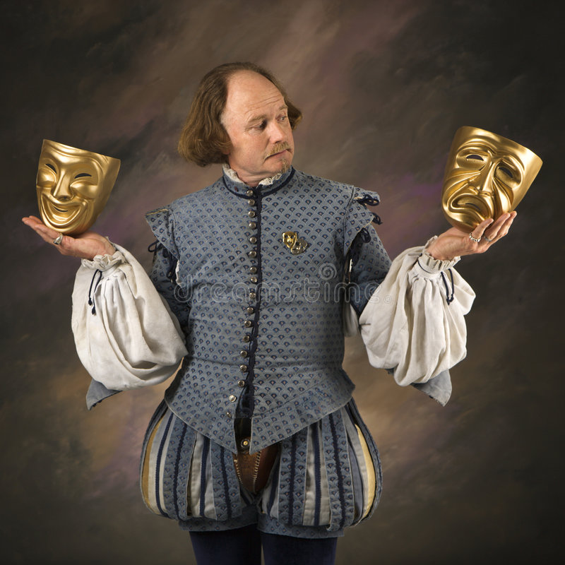 Free Shakespeare With Mask Royalty Free Stock Photography - 2678397