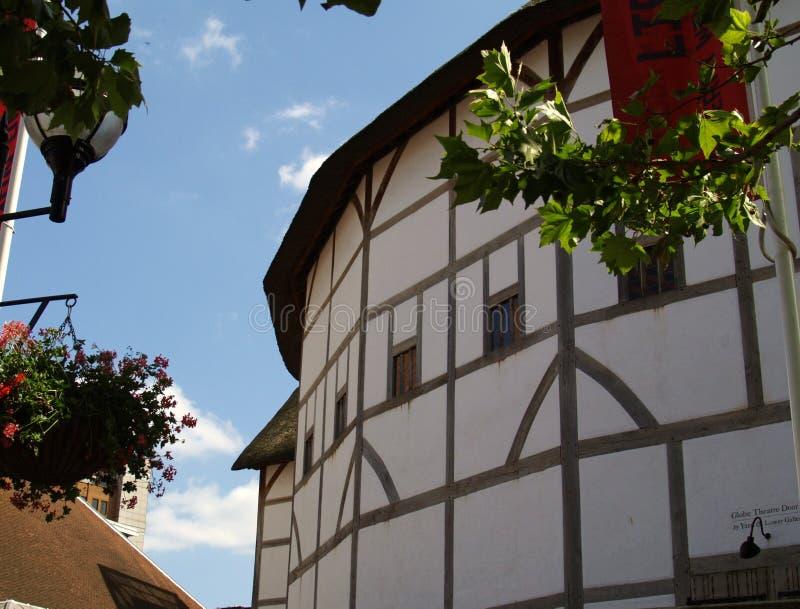 Shakespeares Kugel-Theater lizenzfreies stockbild