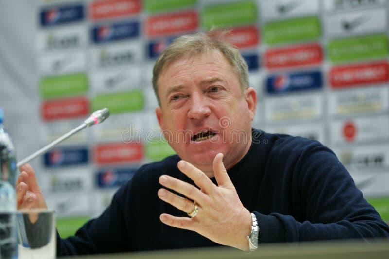 Shakhtar, Donetsk - Goverla, jogo de futebol de Uzhgorod imagem de stock royalty free