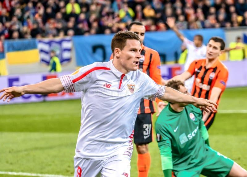Shakhtar vs Sevilla arkivfoton