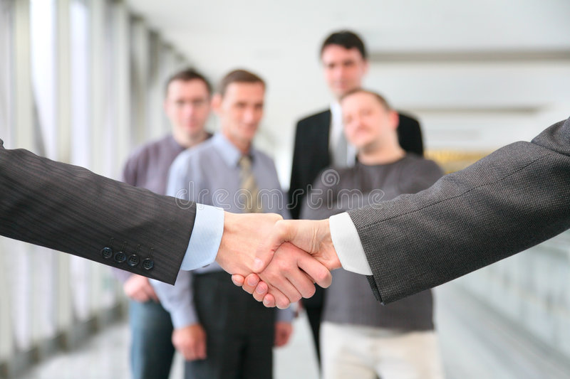 Download Shaking hands stock photo. Image of males, business, greeting - 2350170