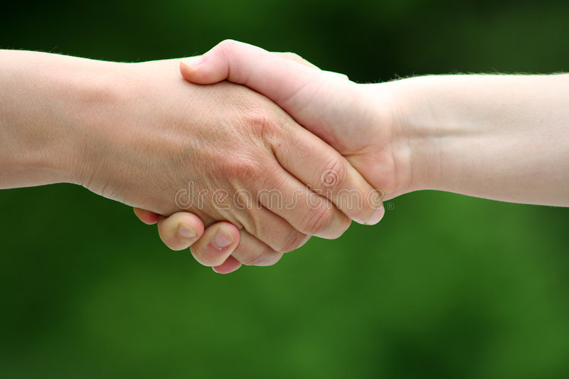 Download Shaking Hands Royalty Free Stock Photos - Image: 5109428