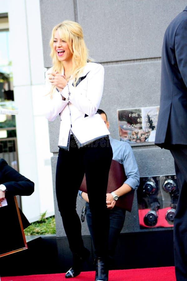Shakira Editorial Stock Photo