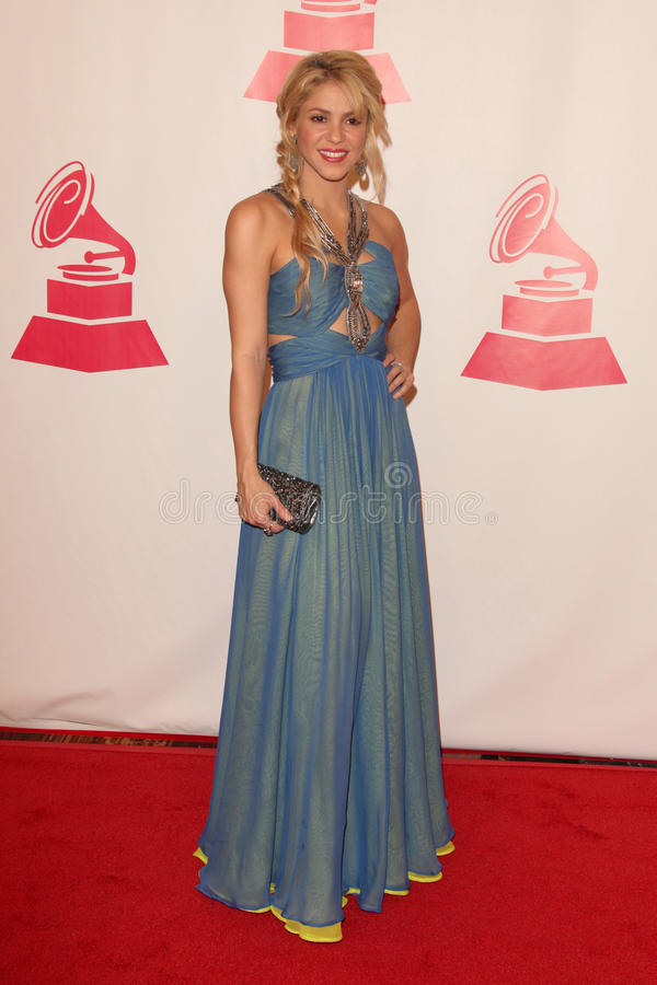 Shakira fotografia stock