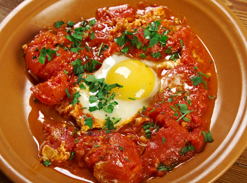 Shakshuka photographie stock
